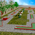 Minigolf Circuit - Outdoor Sports Sets - Maderplay