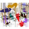 مناطق اللقاء - ألعاب الأطفال - Mader Play