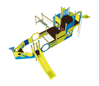 Multiple Games - Combiplay line - Outdoor Toy Sets - Mader Play