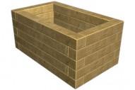 Jardinera 5021 - Jardineras - Mobiliario Rústico - Pavimentos - Productos - Mader Play