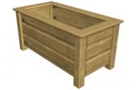 Jardinera 5022 - Jardineras - Mobiliario Rústico - Pavimentos - Productos - Mader Play