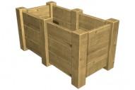 Jardinera 5023 - Jardineras - Mobiliario Rústico - Pavimentos - Productos - Mader Play