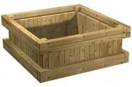 Jardinera 5030 - Jardineras - Mobiliario Rústico - Pavimentos - Productos - Mader Play