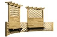 Paravientos Doble - Celosías - Mobiliario Rústico - Pavimentos - Productos - Mader Play