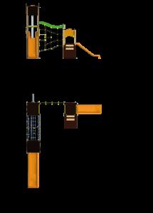 MP L7 1300 - Serie Primavera - Línea 7 - Juegos Infantiles - Productos - Maderplay