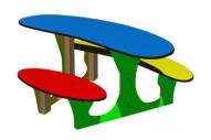 Mesita Fantasía - Complementos de Área- Juegos Infantiles - Productos - Mader Play