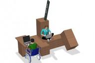 WiFi BOX-M - Soluciones Urbanas - Mobiliario - Maderplay