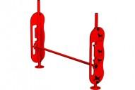 Salto de altura - Circuito Agility - Juegos Deportivos - Producto - Maderplay