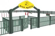Cerramiento circuito Agility - Circuito Agility - Juegos Deportivos - Producto - Maderplay