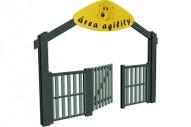Pórtico doble de entrada - Circuito Agility - Juegos Deportivos - Producto - Maderplay