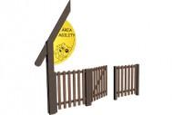 Pórtico sencillo de entrada - Circuito Agility - Juegos Deportivos - Producto - Maderplay