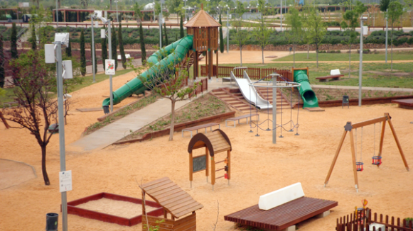 Últimos proyectos: Parque del Agua, Zaragoza