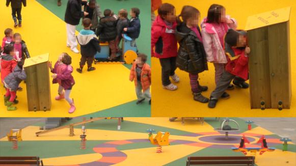 Últimos proyectos: Creación de áreas de juego infantil