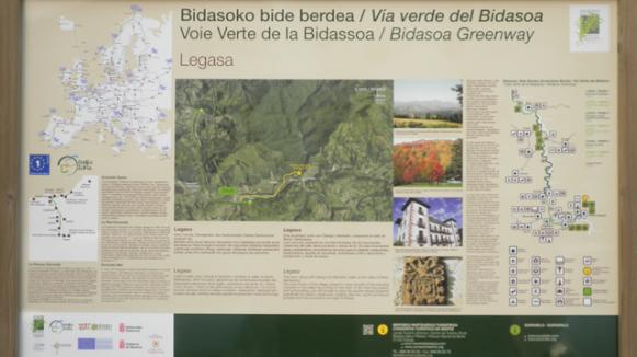 Señalización Vía Verde Bidasoa