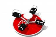Mistral 4 - Línea Colors - Juegos Infantiles - Producto – Maderplay