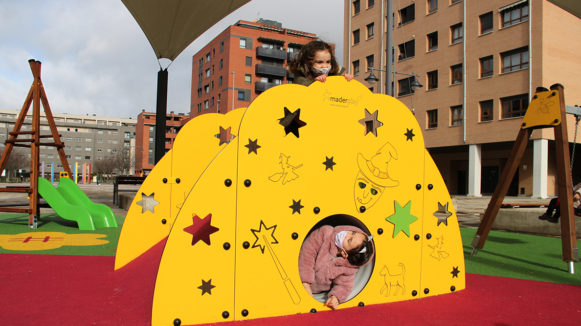 Maderplay_Tunel mágico_juego al aire libre